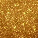 Zlaté třpytky v rozprašovači