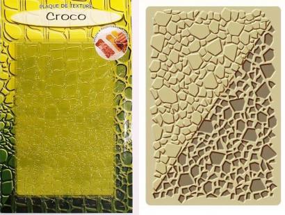 Strukturovací podložka krokodýl