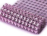 Diamantový pás 58 mm x 1 m fialový