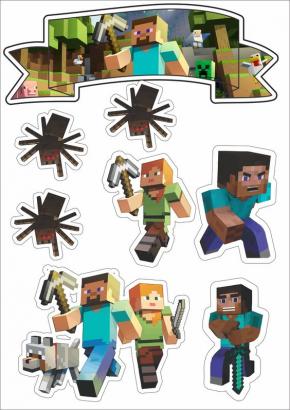 Jedlý papír minecraft  vi