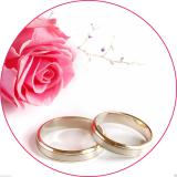 Jedlý papír svatba - zásnuby