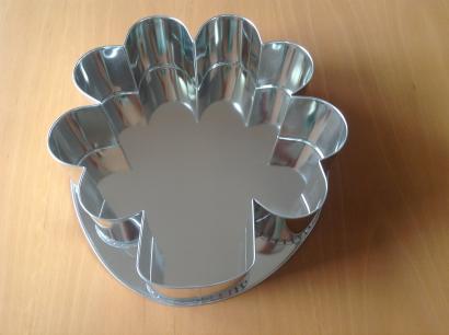 Dortová forma čtyřlístek 30,5 cm