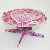 Papírový stojan na dort princess