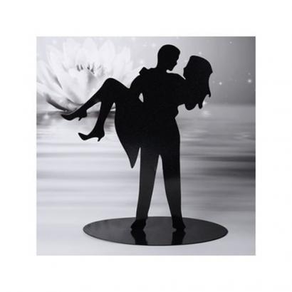 Svatební pár - silueta  ii