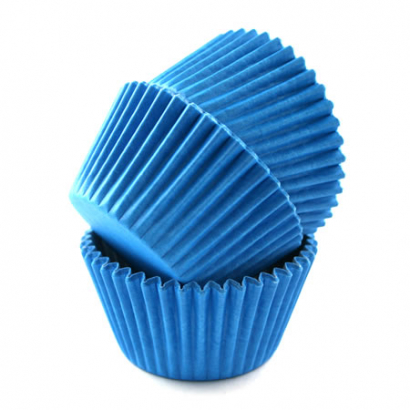 Cukrářské košíčky modré  80 ks