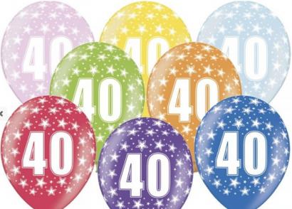 Balonek  33 cm číslo  40