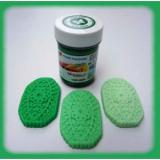 Gelová barva dark green - tmavě zelená