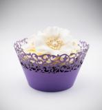 Košíčky na cupcakes  12 ks  fialové