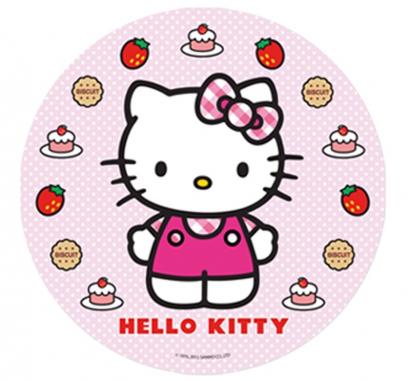 Jedlý papír  hello kitty 1