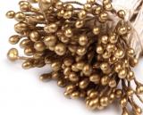 Pestíky tmavě zlaté     160 ks