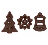 Vánoce - čokoládové filigránky