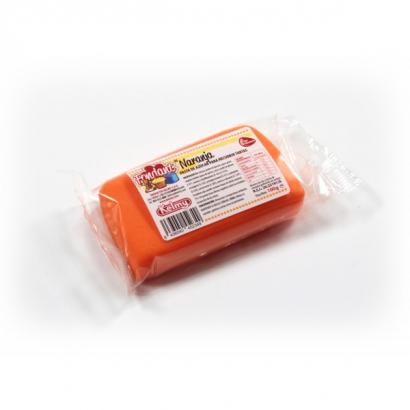 Kelmy barevná hmota  100 g  oranžová
