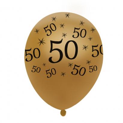 Balonek zlatý  50