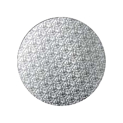 Podložka pod dort stříbrná  30 cm