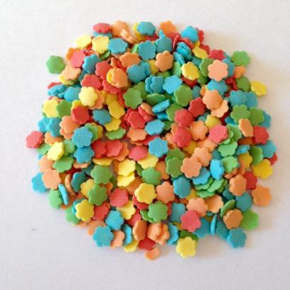 Cukrové kytičky barevné  30 g