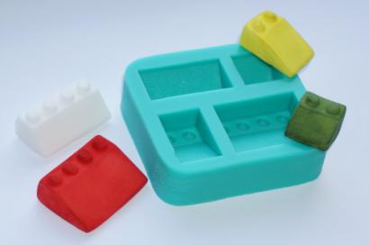 Silikonová forma lego zkosené části