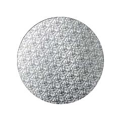 Podložka pod dort stříbrná  25 cm