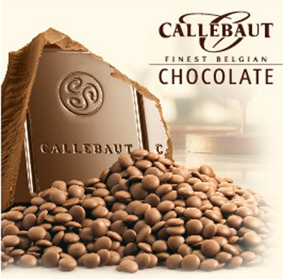 Čokoláda callebaut mléčná 1 kg