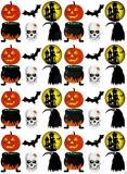Halloween - jedlý papír  48 ks