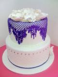 Krajka sweet lace fialová  200 g