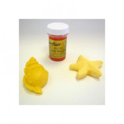 Sugarflair barva gelová egg yellow