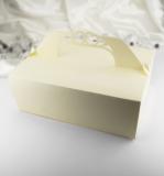 Krabička velká zlatá perleť 10 ks