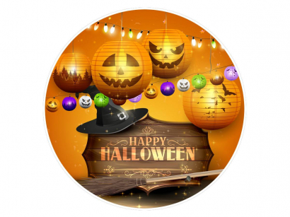 Jedlý papír halloween 4