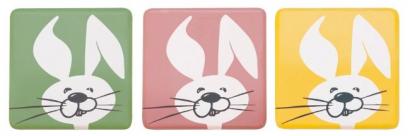 Čokoládová dekorace králíčci   15 ks