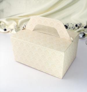 Krabička  střední baroko šampaň  10 ks