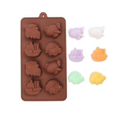 Formička na čokoládu  dopravní prostředky