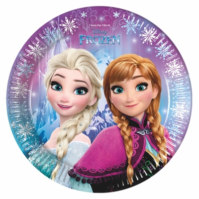 Frozen party talíře iv 8 ks