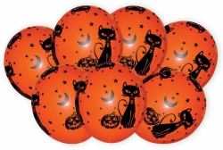 Balónek  halloween  7 ks