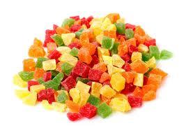 Kandované ovoce  mix 100 g