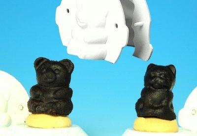 Vosí hnízda - tvar medvídek a kočička