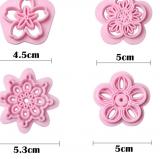 Vykrajovátka květiny 4 ks