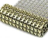 Diamantový pás 58 mm x 1 m zlatý