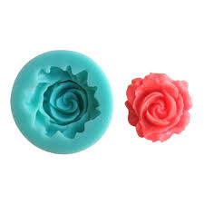 Silikonová formička růže malá