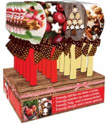 Silikonová stěrka vánoce cukroví