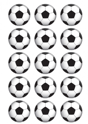 15 ks jedlý papír míč