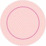Dortová podložka růžový puntík  27 cm