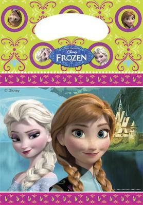 Frozen  dárková taška  6 ks