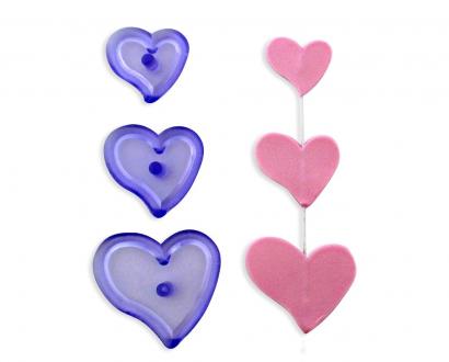 Jem - funky hearts   3 ks
