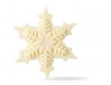 Vločka  -  dekorace z bílé čokolády 12 ks