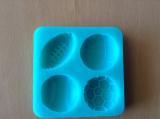 Silikonová forma  míče 4 ks