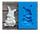 Silikonová forma králíček
