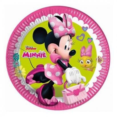 Minnie party talíře 8 ks