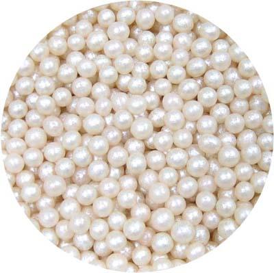Šampaňské perleťové kuličky
