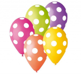 Balonky puntík  5 ks