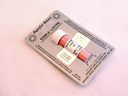 Barva prachová perleťová shimmer pink