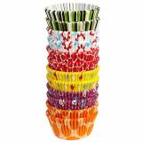 Cukrářské košíčky  -  barevný mix  300 ks